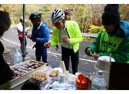 Giro de HOTAKA 2014群馬の名峰「百名山 武尊山」一周120km 紅葉の山岳ロングライド