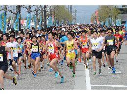 第37回 魚津しんきろうマラソン(...