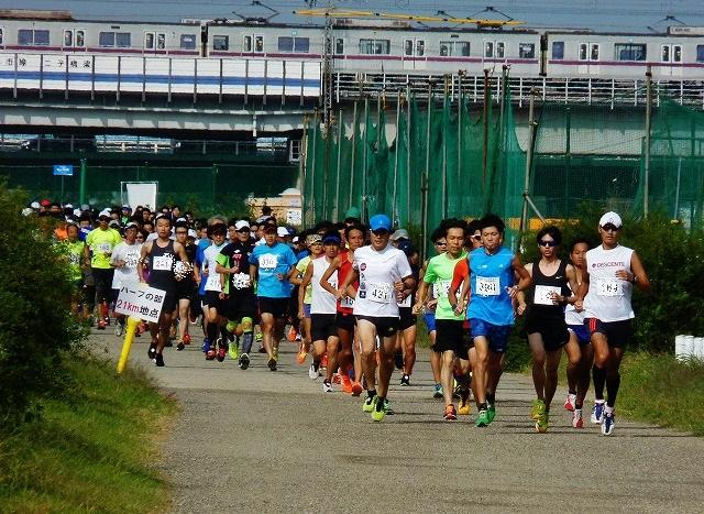 第34回 TAMAハーフマラソン(神奈...