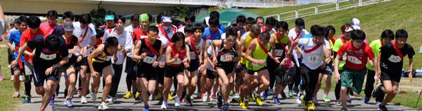第1回 Run-spot 長居公園サマー駅伝