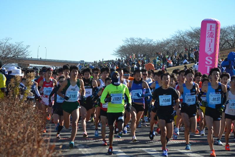 第21回 ハイテクハーフマラソン(東京都 北区 新荒川大橋野球場 ...