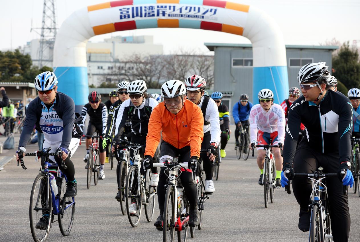 富山湾岸サイクリング2020