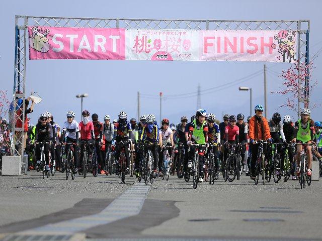 桃と桜のサイクリング2020 〜リニアライドやまなし中央〜