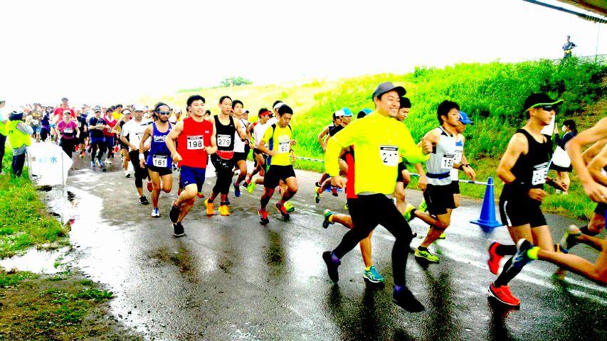第53回 東京都北区赤羽マラソン‐ハーフ(21.0975km)/クォーター(10.54875km)/5km/20kmリレー/スリークォーター(31.64625km)