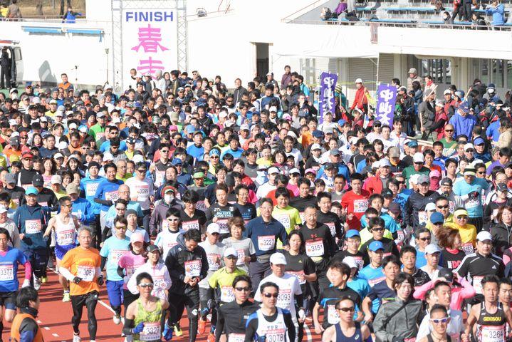 春の松本ランニングフェスティバル2021 in 信州スカイパーク