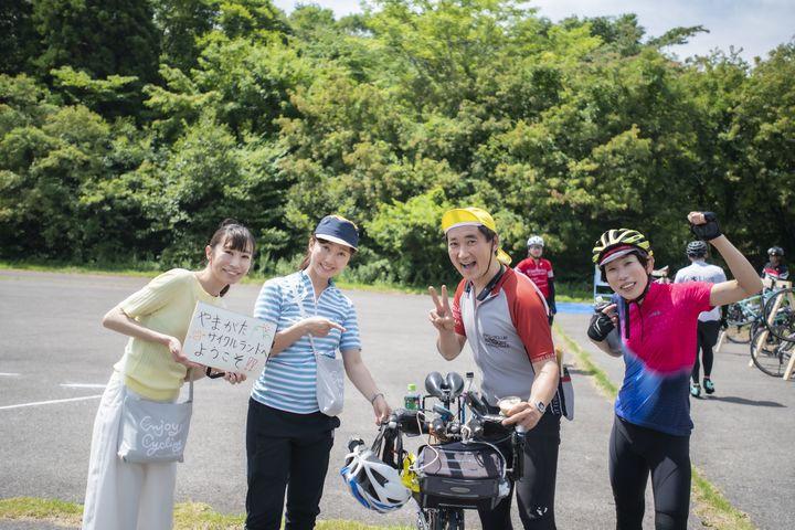 """Fun Ride ひろしま in やまがたサイクルランド2021""""ふるやいなや""""""""おおやようこ""""と走ろう〜"""