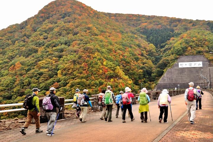 七ヶ宿ダム竣工30周年記念 七ヶ宿湖一周ウォーキング2021